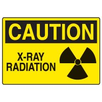 OSHA Caution Signs - X-Ray Radiation