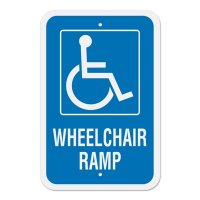 Handicap Signs - Handicapped Parking (Vertical)