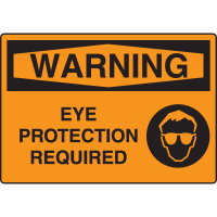 Harsh Condition Safety Signs - Warning - Eye Protection Required