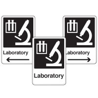 Health Care Facility Wayfinding Signs - Laboratory