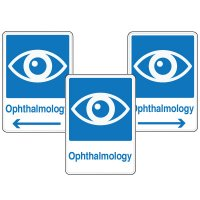 Health Care Facility Wayfinding Signs - Ophthalmology
