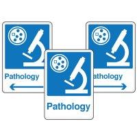 Health Care Facility Wayfinding Signs - Pathology