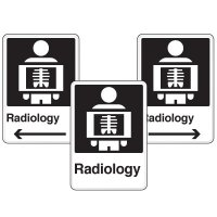 Health Care Facility Wayfinding Signs - Radiology