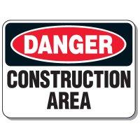 Danger - Construction Area