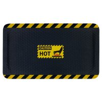 Hog Heaven Safety Message Anti-Fatigue Mats - Caution Hot
