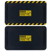 Hog Heaven Safety Message Anti-Fatigue Mats - Caution Respirator Required