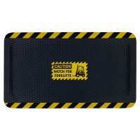 Hog Heaven Safety Message Anti-Fatigue Mats - Caution Watch For Forklifts