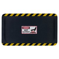 Hog Heaven Safety Message Anti-Fatigue Mats - Danger Hot Equipment