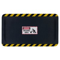 Hog Heaven Safety Message Anti-Fatigue Mats - Danger Welding Area