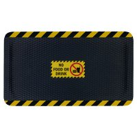 Hog Heaven Safety Message Anti-Fatigue Mats - No Food Or Drink