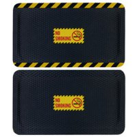 Hog Heaven Safety Message Anti-Fatigue Mats - No Smoking