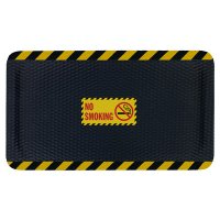 Hog Heaven Safety Message Anti-Fatigue Mats - No Smoking