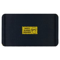 Hog Heaven Safety Message Anti-Fatigue Mats - Safety Glasses Required