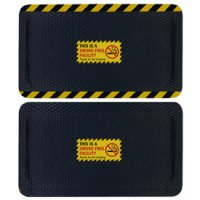 Hog Heaven Safety Message Anti-Fatigue Mats - Smoke Free Facility