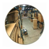 Indoor Acrylic Convex Mirrors, Telescopic Bracket