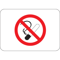 International Symbols Signs - No Smoking