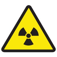 International Symbols Labels - Radioactive Material Hazard