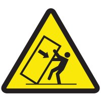 International Symbols Labels - Tipping Hazard
