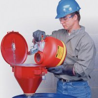 Justrite® Hazard Liquid Safety Funnels