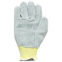 Kevlar® Cut/Slash Resistant Action Leather Palm Gloves