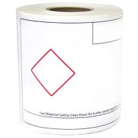 LabelTac® GHS Die-Cut Regulatory Printer Labels
