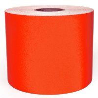 LabelTac® LT104RF Reflective Printer Labels - Red