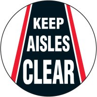 Lexan Heavy Duty Floor Markers- Keep Aisles Clear