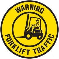Lexan Heavy Duty Floor Markers-Warning Forklift Traffic