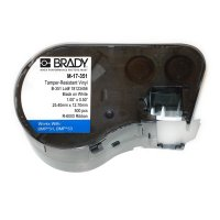 Brady M-17-351 BMP53/BMP51 Label Cartridge - White