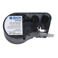 Brady M-89-427 BMP51/BMP41 Label Cartridge - Black on White/Clear