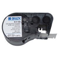 Brady M-47-483 BMP51/BMP41 Label Cartridge - Black on White