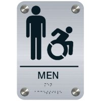 Men (Dynamic Accessibility) - Premium ADA Restroom Signs