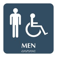 Men - Optima ADA Restroom Signs