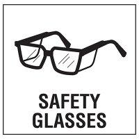 Safety Glasses Sign