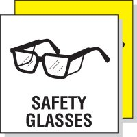 Safety Glasses Sign