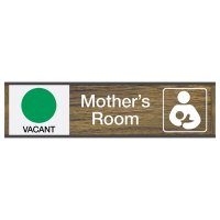Mother's Room Sign w/ Sliders - Vacant/Occupied