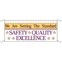 Safety Banners - We Are Setting The Standard