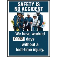 Motivational Safety Scoreboards - Safety Is No Accident