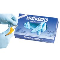 Nitri-Shield Nitrile Disposable Gloves