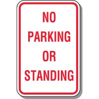 No Parking Signs - No Parking Or Standing