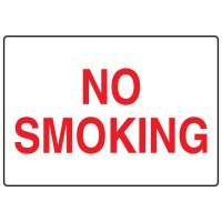 No Smoking Signs - No Smoking