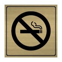 No Smoking Symbol - Engraved Graphic Symbol Signs