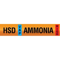 Opti-Code™ Ammonia Pipe Markers - High Stage Discharge