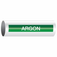 Opti-Code™ Self-Adhesive Pipe Markers - Argon