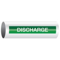 Opti-Code™ Self-Adhesive Pipe Markers - Discharge