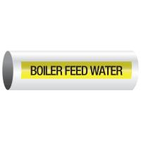 Opti-Code™ Self-Adhesive Pipe Markers - Boiler Feed Water