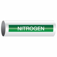 Opti-Code™ Self-Adhesive Pipe Markers - Nitrogen