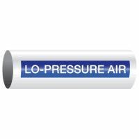 Opti-Code™ Self-Adhesive Pipe Markers - Lo-Pressure Air