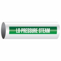 Opti-Code™ Self-Adhesive Pipe Markers - Lo-Pressure Steam