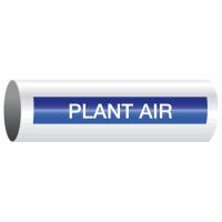 Opti-Code™ Self-Adhesive Pipe Markers - Plant Air
